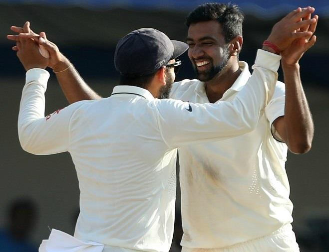 India won the test series against newzealand